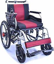 Rollstuhl, untauglicher vierrädriger elektrischer
