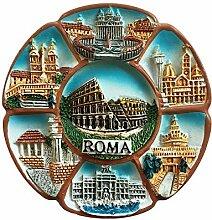 Rom Italien 3D Berühmte Landschaft