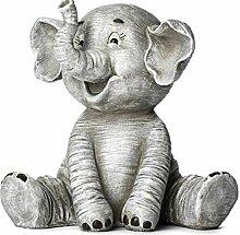 Roman Inc. Gartenfigur Elefant, 21,6 cm