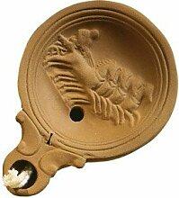 Roman Pottery Öllampe Replica