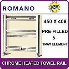 Romano Kleiner elektrisch Dual-Fuel chrom