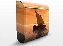 Romantic Sailing 39x46x13cm  Briefkasten, Standbriefkasten, Briefkästen, FILL ME