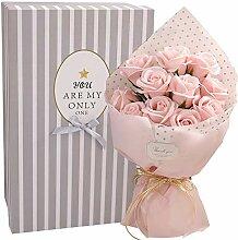Romantik Blumenstrauß Aus Rosen Valentinstag