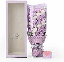 Romantik Handgemachte Seife Rosen Blumenstrauß