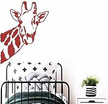 Romantische Hirsche Wandaufkleber Dekoration