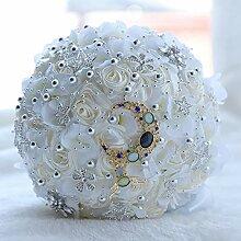 Romantische Stern-Braut, die