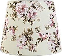 Romantischer Lampenschirm Pendelleuchte E27 Blumen