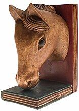 ROMBOL Buchstütze Pferd, Holz