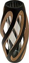 ROMBOL Vase, Holzvase, Höhe 33,5 cm, Designvase,