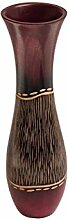 ROMBOL Vase, Holzvase, Höhe 35 cm, Design 10,