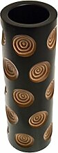 ROMBOL Vase, Holzvase, Höhe 38,5 cm, Designvase,