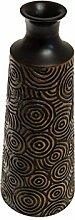 ROMBOL Vase, Holzvase, Höhe 40,5 cm, Designvase,