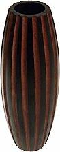 ROMBOL Vase, Holzvase, Höhe 41 cm, Designvase,
