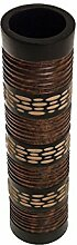 ROMBOL Vase, Holzvase, Höhe 43,5 cm, Designvase,