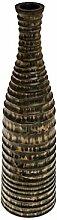ROMBOL Vase, Holzvase, Höhe 46 cm, Designvase,