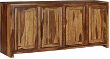 ROMELAREU Sideboard Massivholz Sheesham