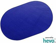 Romeo blau HEVO® Teppich | Kinderteppich | Spielteppich 200x280 cm Oval