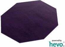 Romeo lila HEVO® Teppich | Kinderteppich | Spielteppich 200 cm Achteck