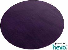 Romeo lila HEVO® Teppich | Kinderteppich | Spielteppich 200 cm Ø Rund
