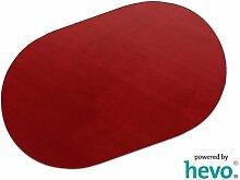 Romeo rot HEVO® Teppich | Kinderteppich | Spielteppich 200x280 cm Oval