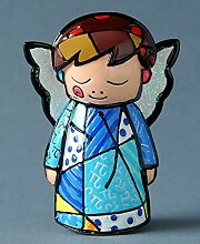 Romero Britto Giftcraft Mini Engelfigur, Keramik,