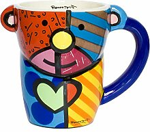Romero Britto Tasse Kaffeetasse Hund Porzellan