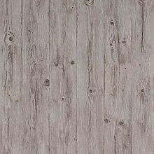 Romosa Wandtapete mit Holzpaneelen Bolt grau