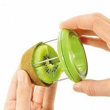 Romote Manuelle Slicer Mini Kiwi Obst Schale