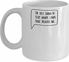 Ron Swanson - Kaffeetasse Tasse Zitat Geschenkidee