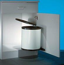 Rondo 3 - weiß Abfallsammler / Mülleimer