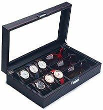 Rong biao Uhrenbox Gläser Aufbewahrungsbox