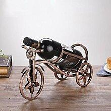 Rong jiu Vintage Metall Weinregal Eisen Fahrrad