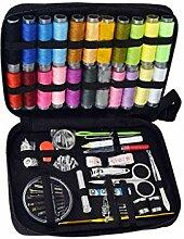 rongweiwang 126pcs DIY Sewing Kit Nadeln Stifte