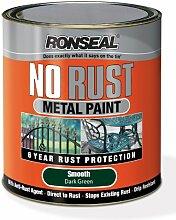 Ronseal NRSMDG250 Metallfarbe, rostfrei, Dunkelgrün