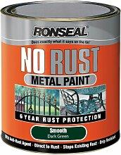 Ronseal, NRSMDG750, Metallfarbe, rostfrei, Dunkelgrün, 750 ml