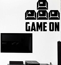 Room Handle Sticker Gamer Decal Gaming Posters
