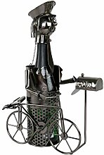 Roomando Flaschenhalter Postbote/Fahrrad aus