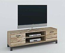 roominado Lowboard TV-Kommode Fernsehtisch NINA
