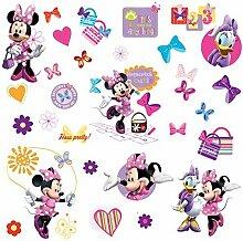 RoomMates RM - Disney Minnie und Daisy Wandtattoo,