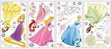RoomMates RM - Disney Prinzessinnen Leuchtend