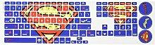 RoomMates rmk2813flt Superman Tastatur schälen