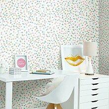 RoomMates rmk3504wp Konfetti schälen und Stick