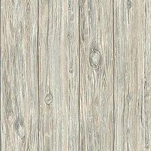 RoomMates Tapete selbstklebend Wiederverwendbar Schneidebrett, Holz–natur