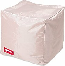 ROOMOX Cube Lounge-Sitzwürfel Stoff 40 x 40 x 40 cm, Beige