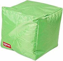 ROOMOX Cube Lounge-Sitzwürfel Stoff 40 x 40 x 40 cm, Limettengrün