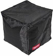 ROOMOX Cube Lounge-Sitzwürfel Stoff 40 x 40 x 40 cm, schwarz