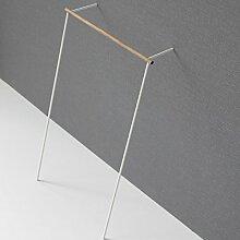 Roomsafari Leanon II Garderobe Nussbaum/Gestell