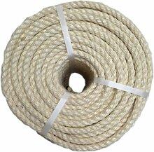 RopeServices UK 220 Metre vorbespannt von 10 mm natürliche Sisal Seil, Garten, Pflanzen, Dekoration, Basteln
