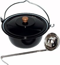 Unbekannt 25 L Gruppenkochtopf Edelstahl Hordentopf Suppentopf Suppenkessel Gulaschkessel10 Liter