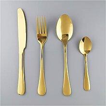Rosa Goldbesteck Set 18/10 Edelstahl Geschirr